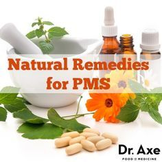 Premenstrual syndrome (PMS) symptoms may start a week or two before the period and may be mild to severe. Try these 7 Natural Remedies For PMS and Cramps!