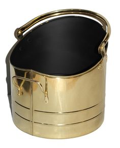 Gorgeous brass coal buckets in various sizes or in a complete set of three, please select from the drop down list which size you would prefer or if you would like the whole set!Ideal for carrying coal to and from your fireplace or for use as a fireside decoration. A traditional looking coal bucket perfect for any fireplace.