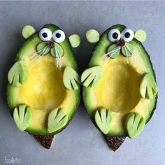 Food Artist Creates Beautifully Realistic Characters That Are Just Too Cute To Eat - Creative Food L'art Du Fruit, Fruit Art, Disney Inspired Food, Disney Food, Food Art For Kids, Cute Food Art, Creative Food Art, Food Artists, Food Carving