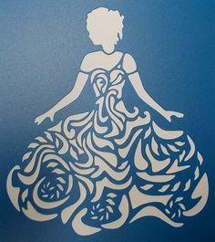 Sheer Elegance Stencil