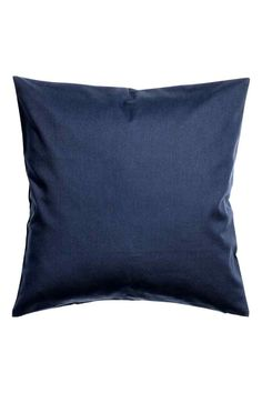Cotton twill cushion cover: Cushion cover in cotton twill with a concealed zip.