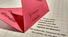Les formes de phrases – Tablettes & Pirouettes Phrases, Education, School, Notebook, Children, Onderwijs, Learning
