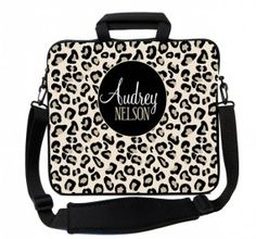 Black Leopard Laptop Bags People Bag
