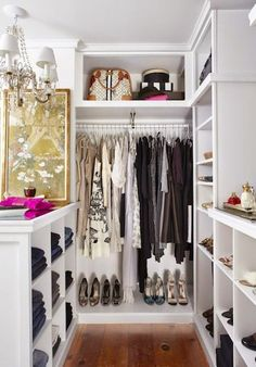 [Get the look] Cómo organizar y decorar tu vestidor