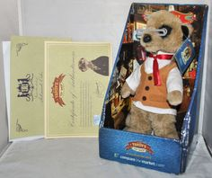 YAKOV COMPARE THE MEERKAT / MARKET TOY, IN BOX AND SEALED WITH TAG AND PAPERWORK