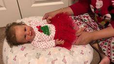 Reborn Holiday Tag and Changing Maizie Into Christmas Outfit from Little Me Dream Baby, Reborn Baby Dolls, Little My, Holiday, Christmas, Tags, Outfits, Xmas, Vacations