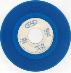 "1963 45 Rpm Bobby Vinton ""BLUE ON BLUE"" B/w ""THOSE LITTLE THINGS"" On Epic 9593"