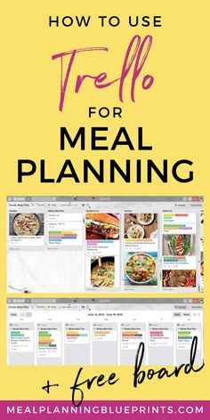 Meal planning on Tre