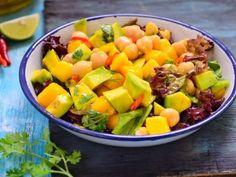 Mango, Avocado and Chickpea Salad Recipe