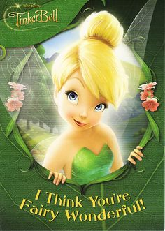 TinkerBell Card | Came free with purchase of TinkerBell the … | crayolamom | Flickr