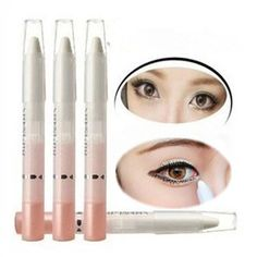 Eye Shimmer Pearl Eyeliner Pencil Pen Make Up Beauty Cosmetic White Highlighter #Unbranded
