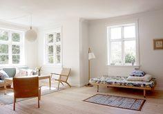 Book-Filled Copenhagen Home Tour Family