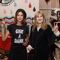 chungxalexa: @thedeependclub Alexa Chung hosts The Deep End Club Collection launch in New York on February 14, 2016 #NYFW