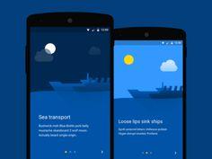 Onboarding screen illustrations