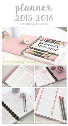 Descarga e imprime tu agenda, puedes personalizarla a tu gusto, y es totalmente gratis! Si te gustan las agendas chulas, ésta es para ti!