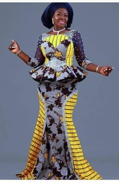 Ankara Skirt And Blouse, Ankara Dress, Maxi Dress With Sleeves, African Fashion Ankara, Latest African Fashion Dresses, African Men, African Beauty, Latest Fashion, African Print Clothing