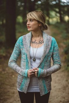 Ravelry: Comfort Fade Cardi pattern by Andrea Mowry