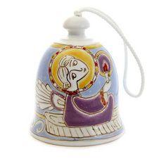 $11.00 Blagovest Bell http://catalog.obitel-minsk.com/km-53-1-1-1-kolokol-chik-blagovest.html?&___store=default #Pottery #ceramics #decor #christmas #gift #handmade #handcrafted #crafts #forsale #order #wordwide #glaze #deliver #bell
