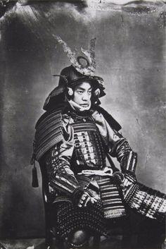 retrato samurái  guerreros samurái                                                                                                                                                      Más