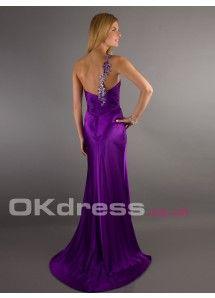 Sheath/Column One-shoulder Sequin Shoulder Strap Long Formal Dresses