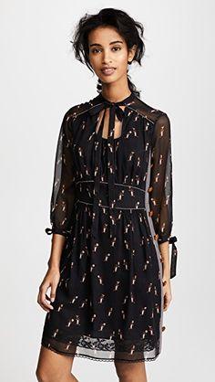 Платье Penguin с завязками у выреза