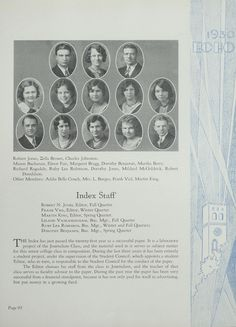Northeast Missouri State Teachers College | Truman State University | 1930 Echo…