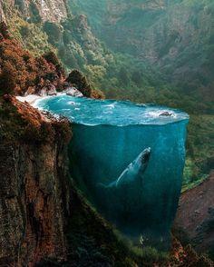 Cet artiste mêle réalité et fantaisie pour créer des scènes surréalistes spectaculaires