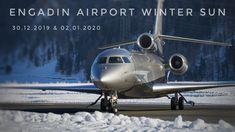 Engadin Airport Winter Sun 30.12.2019 & 02.01.2020 Winter Sun, Aviation, Music, Musica, Musik, Air Ride, Muziek, Music Activities, Aircraft