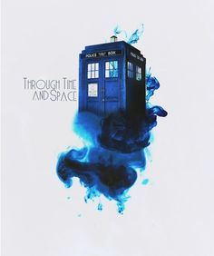 Through Time And Space #doctorwho #fanart #tardis