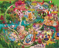 Busch gardens williamsburg map