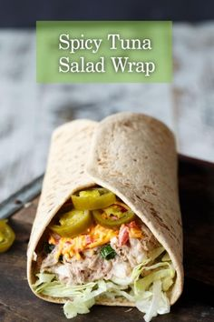 spicy-tuna-salad-wrap