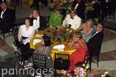 June 17, 1997: Diana, Princess of Wales with friend Lucia Flecha De Lima at a gala benefit for victims of landmines at the National Museum of Women in the Arts in Washington, DC.