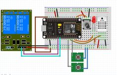 NodeMcu 1.0V ESP8266 12E Arduino Wifi, Esp8266 Wifi, Arduino Programming, Esp8266 Projects, Iot Projects, Hobby Electronics, Electronics Projects, Rasberry Pi, Circuit Diagram