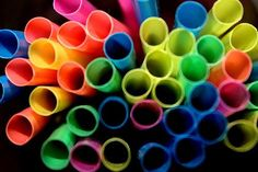Abstract photography - straws