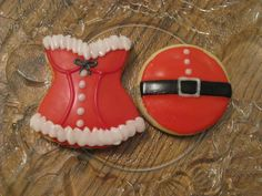 Mr. & Mrs. Claus - Christmas Sugar Cookies