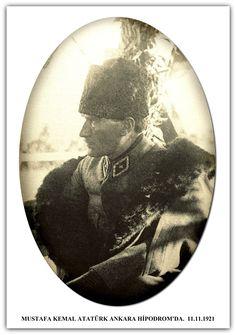 ŞERAFETTİN DEMIR - MUSTAFA KEMAL ATATÜRK ANKARA HİPODROM'DA. 11.11.1921