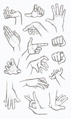 another hand reference how to sheet finger gun flick flicking grabbing hands drawingPractices to draw hands, Made back in summer. In my opinion drawing hands is one of the most important things to grasp when designing characters and jus. Anime Drawings Sketches, Pencil Art Drawings, Manga Drawing, Hand Drawings, Sketches Of Hands, Anatomy Drawing, Drawing Art, Figure Drawing, Drawings Of Hands