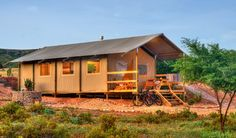 AfriCamps Glamping at Klein Karoo, South Africa first campsite. Set on a beautiful farm just outside of Oudtshoorn Luxury Camping Tents, Go Glamping, Best Tents For Camping, Camping Set, Luxury Tents, Winter Camping, Tent Camping, Campsite, Boutique Camping