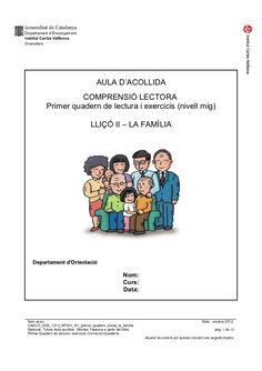 Caaco dos 1213_mt031_r1_primer_quadern_inicial_la_familia Valencia, Language, Teaching, School, Bts, Kids Psychology, The Family, Vocabulary, Writing