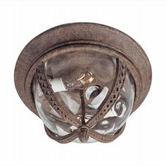 LightingShowroom.com: Whittier VX Earth Tone Outdoor Flush Mount, $147.60