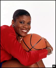 Sheryl Swoopes may best be remembered as the woman who once played one-on-one against Michael Jordan. In 1991, after two years of juco ball, Swoopes moved on to Texas Tech where in her two-year career she led the Red Raiders to a 58-8 record, two Southwest Conference titles and the 1993 NCAA title. She was named 1993 National Player of the Year and NCAA Final Four MVP after setting an NCAA championship game scoring record (for men or women) with 47 points in Tech's 84-82 win over Ohio State.