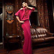 kimonowa sukienka :: amarant , sukienki