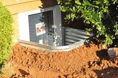 How to install a basement egress window.