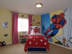Love the wall. Really good idea. Just don't know how I could get that on the wall. I can't draw worth a crap.lol