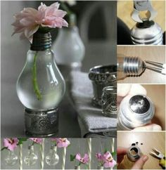 Creative Ideas With Light Bulb