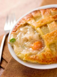 Connie's Famous Chicken Pot Pie recipe! Double crust - just how I like it!