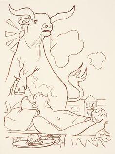 Jean Cocteau Untitled