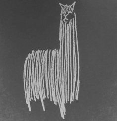 George Tscherny, 1971 Pan Am, Lama Alpacas, Llama Drawing, Drawing Animals, Illustrations, Illustration Art, Llama Arts, Llama Alpaca, Suri Alpaca, Art Pictures