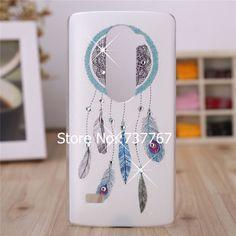 For LG Leon Case /Luxury Crystal Diamond 3D Bling Hard Plastic Cover Case For LG Leon 4 G LTE C40 C50 H340N H320 Cell Phone Case