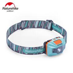 Naturehike Ultraleichtwasserdicht USB Lade Led-scheinwerfer 4 Modi Scheinwerfer Für Nacht Fischen Wandern Camping Radfahren Laufen